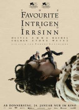<b>Fiona Crombie, Alice Felton</b><br>The Favourite - Intrigen und Irrsinn (2018)<br><small><i>The Favourite</i></small>