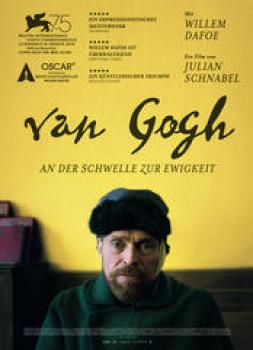 <b>Willem Dafoe</b><br>Van Gogh - An der Schwelle zur Ewigkeit (2018)<br><small><i>At Eternity's Gate</i></small>