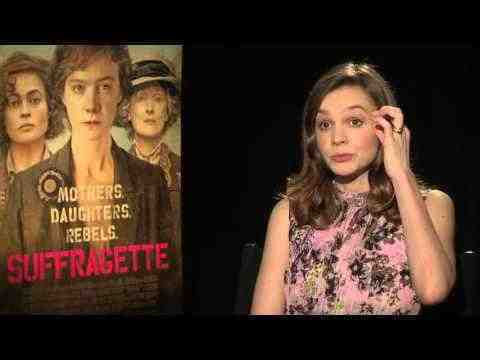 Suffragette - Carey Mulligan Interview