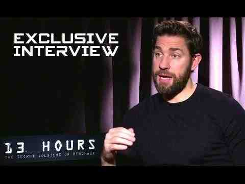 13 Hours: The Secret Soldiers of Benghazi - John Krasinski Interview