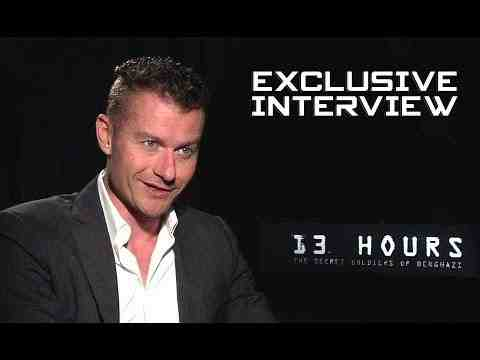 13 Hours: The Secret Soldiers of Benghazi - James Badge Dale Interview