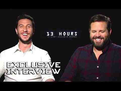 13 Hours: The Secret Soldiers of Benghazi - Pablo Schreiber & David Denman Interview