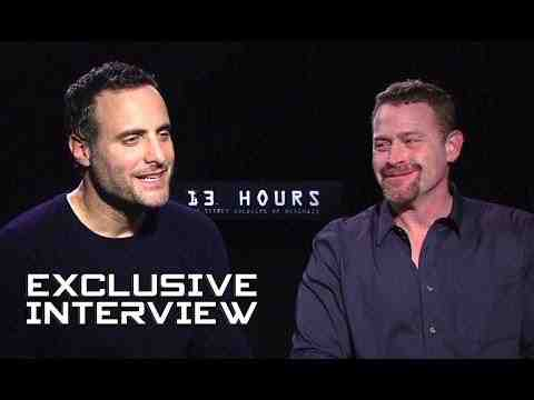 13 Hours: The Secret Soldiers of Benghazi - Dominic Fumusa & Max Martini Interview