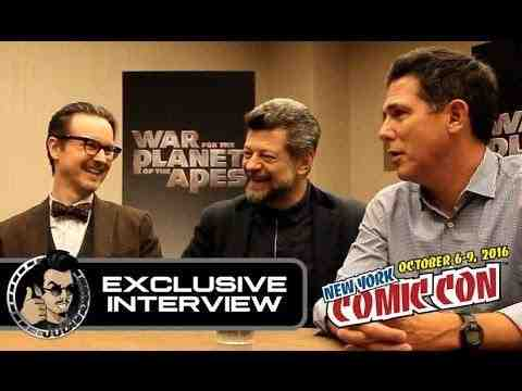 War for the Planet of the Apes - Andy Serkis, Matt Reeves & Dylan Clark Interview