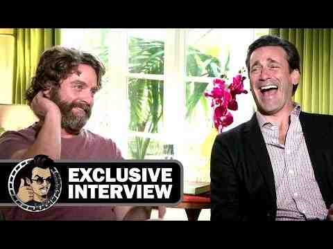 Keeping Up with the Joneses - Zach Galifianakis & Jon Hamm Interview