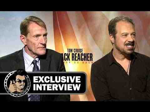 Jack Reacher: Never Go Back - Lee Child & Edward Zwick Interview