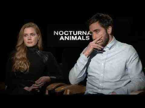 Nocturnal Animals - Amy Adams & Jake Gyllenhaal Interview