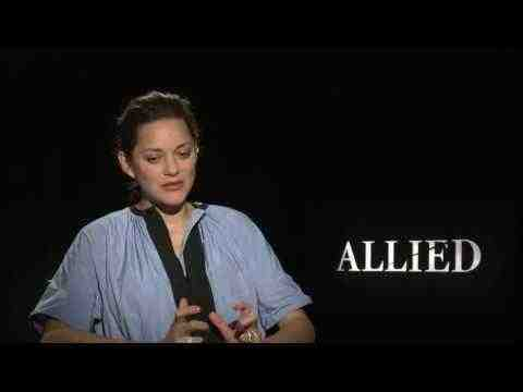 Allied - Marion Cotillard Interview