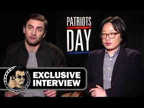 Patriots Day - Themo Melikidze and Jimmy O. Yang Interview