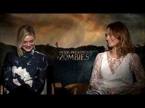 Pride and Prejudice and Zombies - Interviews