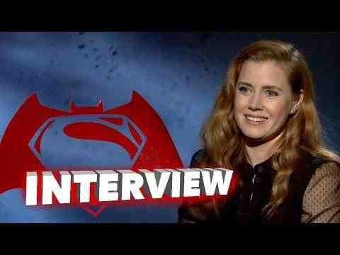 Batman v Superman: Dawn of Justice - Amy Adams Interview