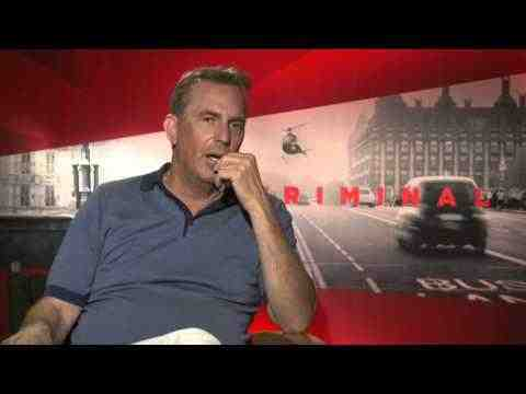 Criminal - Kevin Costner Interview