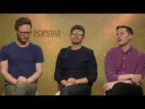 Popstar: Never Stop Never Stopping - Andy Samberg, Jorma Taccone, Akiva Schaffer Interview