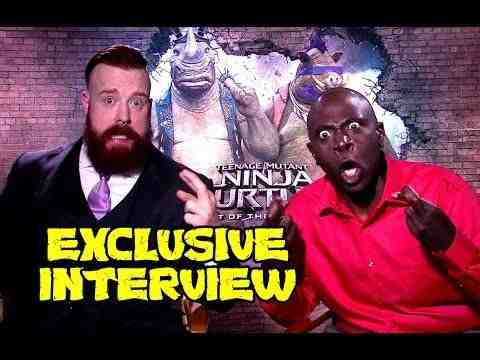 Teenage Mutant Ninja Turtles: Out of the Shadows - Stephen Farrelly & Gary Anthony Williams Interview