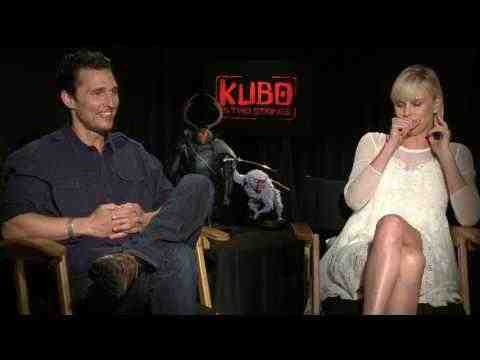 Kubo and the Two Strings - Matthew McConaughey & Charlize Theron Interview
