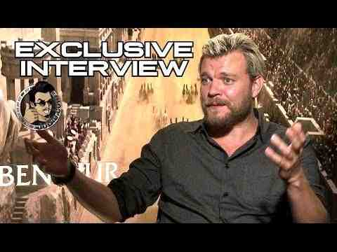 Ben-Hur - Pilou Asbaek Interview