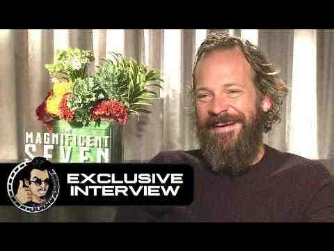 The Magnificent Seven - Peter Sarsgaard Interview
