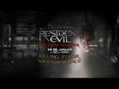 Resident Evil: The Final Chapter - Killing Floor 360°