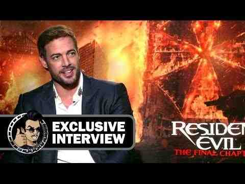 Resident Evil: The Final Chapter - William Levy Interview