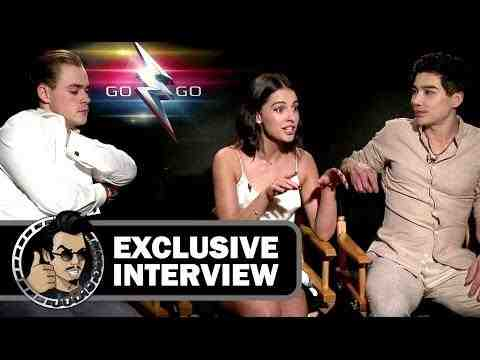 Power Rangers - Dacre Montgomery, Naomi Scott & Ludi Lin Interview