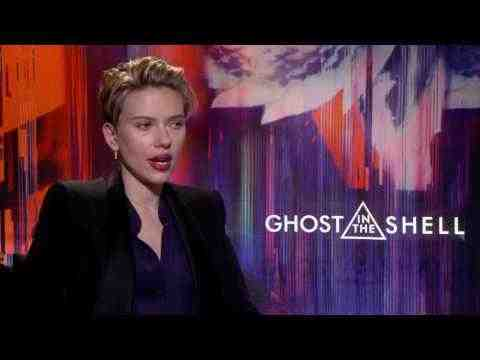 Ghost in the Shell - Scarlett Johansson Interview