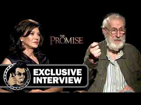 The Promise -  Shohreh Aghdashloo & James Cromwell Interview