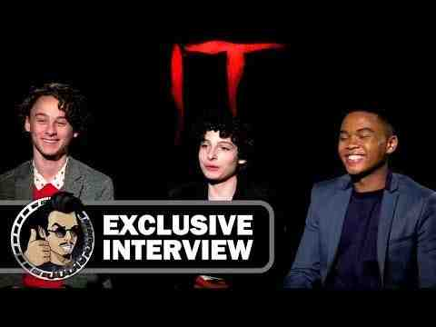 It - Wyatt Oleff, Finn Wolfhard, & Chosen Jacobs Interview