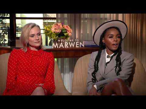 Welcome to Marwen - Diane Kruger & Janelle Monáe Interview