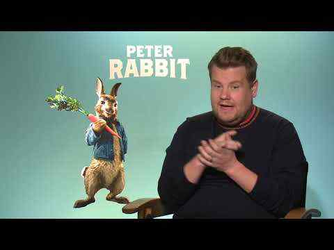 Peter Rabbit - James Corden Interview