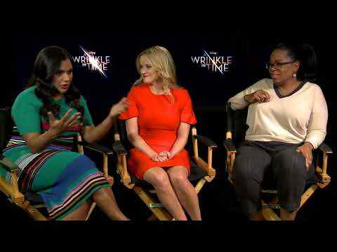 A Wrinkle in Time - Oprah Winfrey, Reese Witherspoon, Mindy Kaling interview