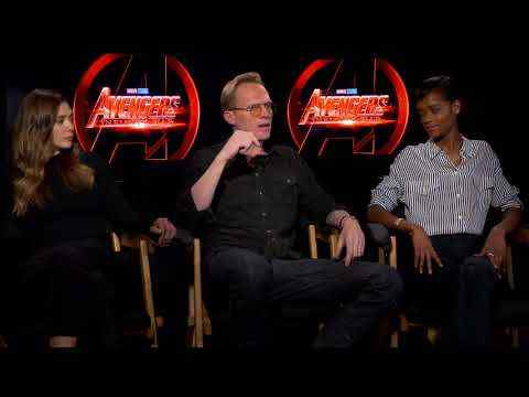 Avengers: Infinity War - Paul Bettany, Letitia Wright, Elizabeth Olsen Interview