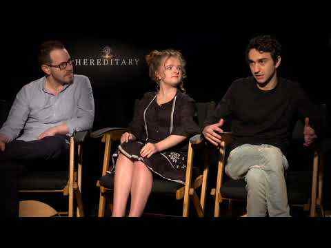 Hereditary - Ari Aster, Milly Shapiro & Alex Wolff Interview
