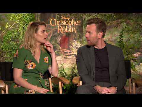 Christopher Robin - Ewan McGregor & Hayley Atwell Interview