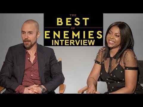 The Best of Enemies - Sam Rockwell and Taraji P. Henson Interview