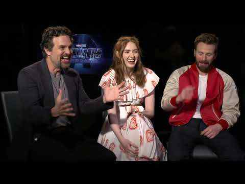 Avengers: Endgame - Chris Evans, Karen Gillan, and Mark Ruffalo Interview
