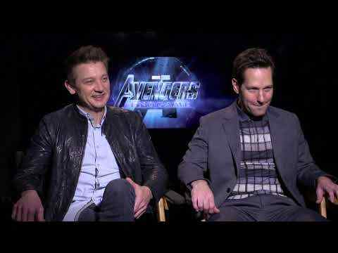 Avengers: Endgame - Jeremy Renner & Paul Rudd Interview