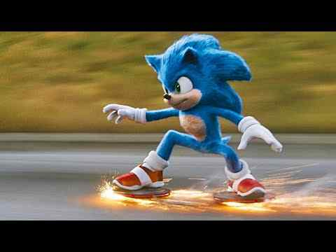 Sonic the Hedgehog - Trailer & Filmclips