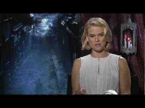 The Raven - Alice Eve Interview