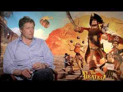 The Pirates! Band of Misfits - Hugh Grant Interview