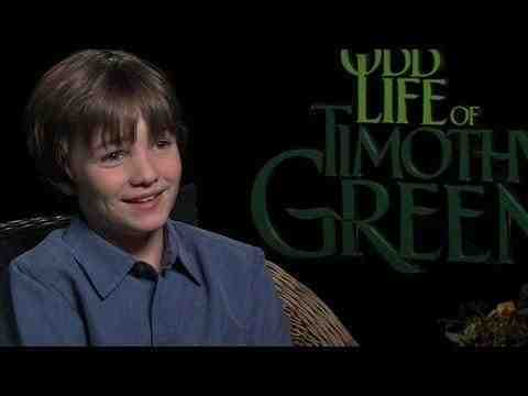 The Odd Life of Timothy Green - CJ Adams Interview