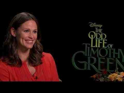 The Odd Life of Timothy Green - Jennifer Garner Interview