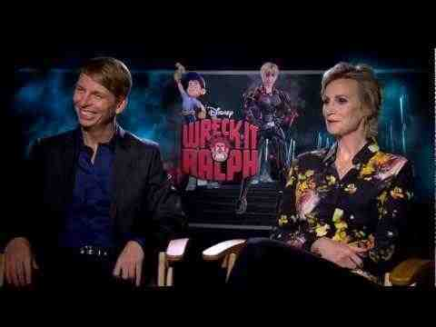 Wreck-It Ralph - Jack McBrayer and Jane Lynch Interview
