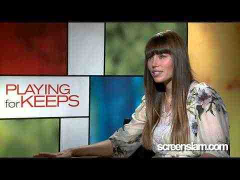 Playing for Keeps - Jessica Biel Interview