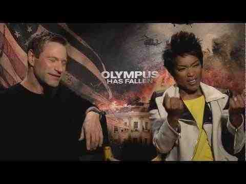 Olympus Has Fallen - Aaron Eckhart and Angela Bassett Interview