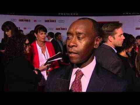 Iron Man 3 - Don Cheadle Interview