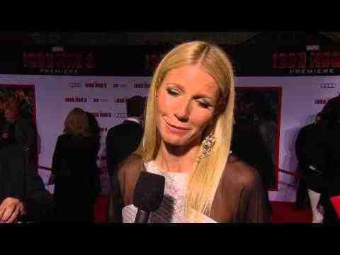 Iron Man 3 - Gwyneth Paltrow Interview