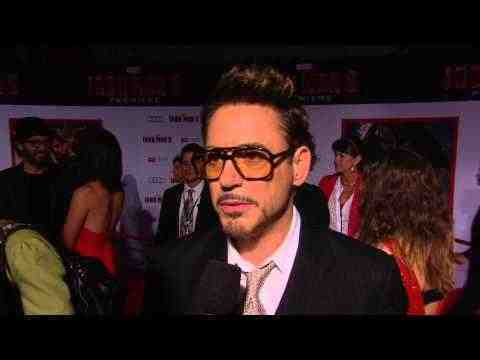 Iron Man 3 - Robert Downey Jr. Interview
