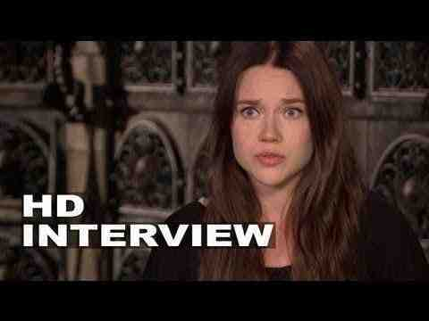 The Mortal Instruments: City of Bones - Jemima West Interview