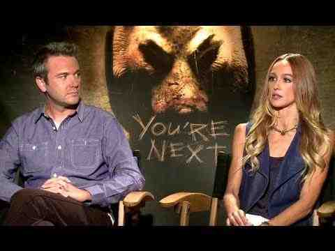 You're Next - Sharni Vinson & A.J. Bowen Interview