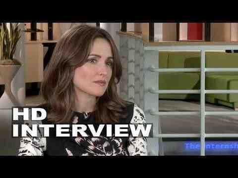 The Internship - Rose Byrne Interview